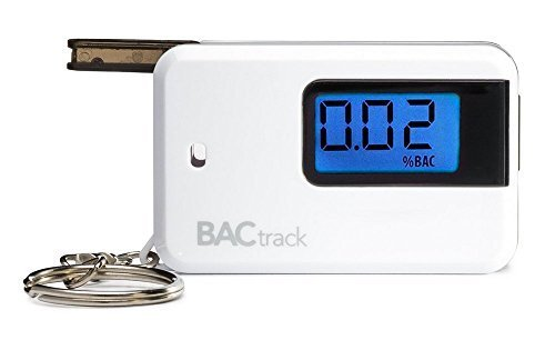 BACtrack Go Keychain Breathalyzer, Portable Keyring Breath Alcohol Tester, White by BACtrack