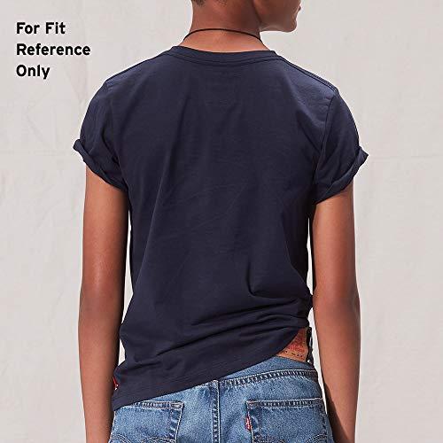 T shirt Levi's 16 Manica Boy Corta Felt White Anni 8 PPH6qI