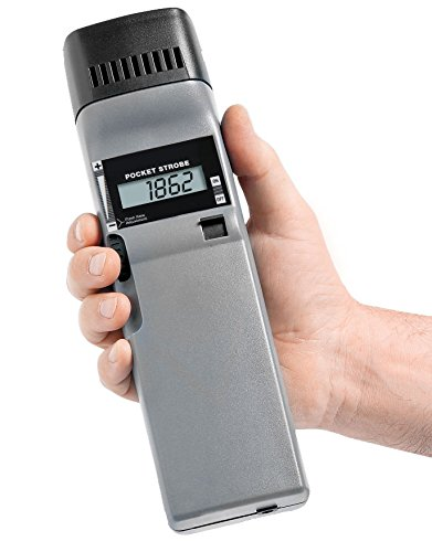 PK2X Pocket-Strobe Stroboscope, Flash Range: 30 - 12,500 FPM, Flash Brightness: 1200 Lux, Complete Kit