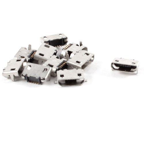 Amazon.com: eDealMax 10 piezas de tipo B Micro USB DE 5 ...
