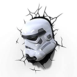 3D Light FX Star Wars Storm Trooper 3D Deco LED Wall Light