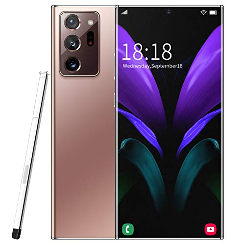 5G Mobile Phone, Sim Free Unlocked Smartphone, Note20U+ Android10.0 Phones 6.9 Inch Full Screen, 5000mAh Battery, 18MP…