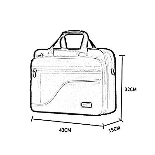 HQ Upgrade Portable Laptop Bag Reisetaschen Herren Messenger Bag Umhängetaschen Erdbeben Widerstand