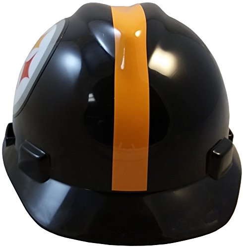 MSA NFL Ratchet Suspension HardHats - Pittsburgh Steelers Hard Hats by MSA (Image #4)