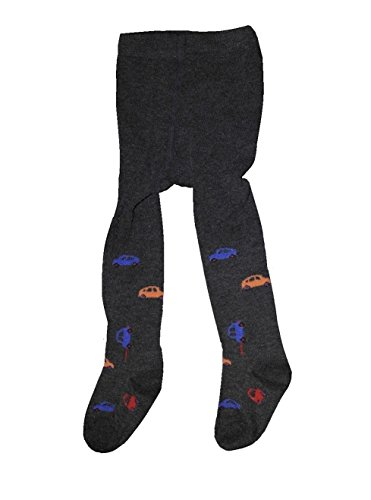 Bomio Toddlers Baby Boys Girls Cotton Warm Tights, Various Patterns and Sizes Available (3-6 Months, Dark-Gray-Novelty)