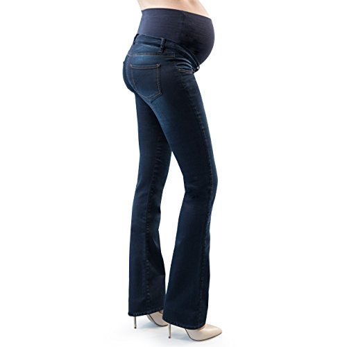 MamaJeans - Torino Denim Boot Cut Maternity Pants Made in Italy