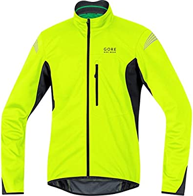 Gore Bike Wear Element Windstopper Soft Shell - Chaqueta para Hombre, Color Amarillo/Negro, Talla S: Amazon.es: Deportes y aire libre