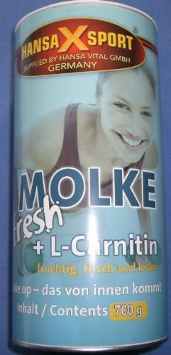 Molke fresh Shake + L-Carnitin, 700g Dose, Hansa-X-Sport, Banane