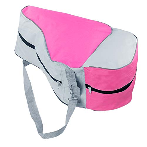 Natuworld Skating Bag Roller Skating Bags Nylon Durable Roller Skating Carrying Bag Heavy Duty Waterproof Skates Tote Bags with Adjustable Shoulder Strap