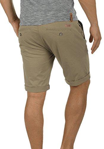 De Corto Pantalones Montijo Dune solid Elástico Hombre Pantalón fit Cinturón Regular 5409 Para Tela Con Bermuda Chino WqYqRnf
