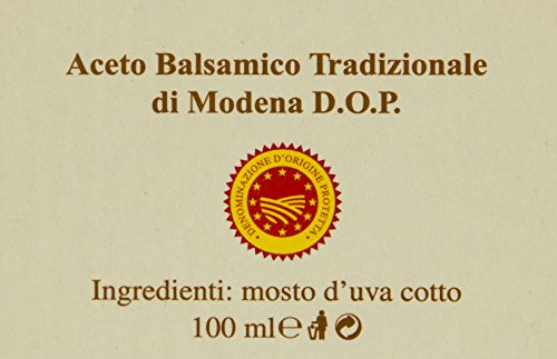 Balsamic Vinegar of Modena Traditional 12 year old DOP certified. Best score from The Consortium of Modena Aceto Balsamico Tradizionale Affinato. On Sale Now. by The Balsamic Guy (Image #6)