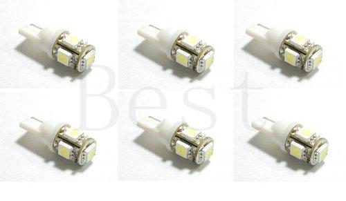 Best to Buy (6-PACK) WARM WHITE Bulb T5 Wedge 1W 360Deg LEDs for Malibu 12V AC Landscape