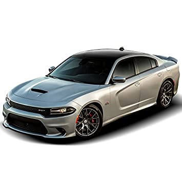 Dawn Enterprises CH-HC14 Hellcat Style Flush Mount Spoiler Compatible with Dodge Charger X8 Black