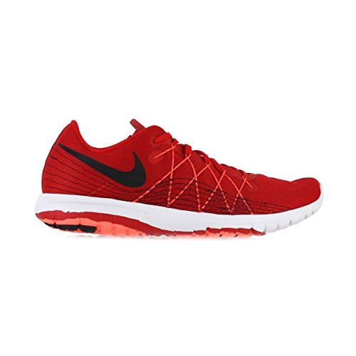 Mens Flex Fury 2 Running Shoe, University Red/Total Crimson/White/Black, 12 D(M) US (Size 8 Men Red Nike Running Shoes)