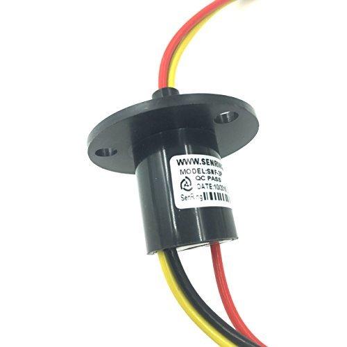 WYPH 250Rpm 3 Wires Mini Slip Ring 15A 240V for Wind Turbine Wind Power Generator ()