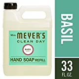 : Mrs. Meyer's - Liquid Hand Soap Refill, Basil - 33 Ounce