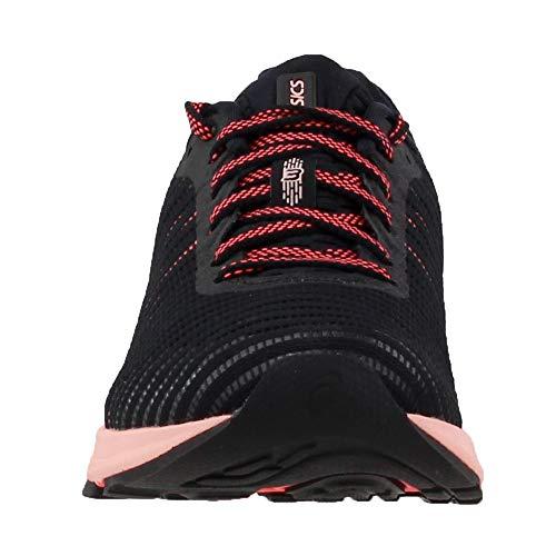 1012A002 3 Women's Running 7 Shoe Flash M B Black ASICS Coral US Dynaflyte w4qBdwF