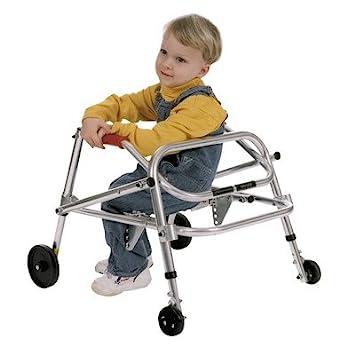 Amazon.com: Del niño – Andador con asiento ruedas/Swivel: 4 ...