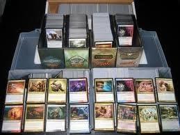 mtg Magic the Gathering 1000 CARD LOT collection bulk cards rares mythics land