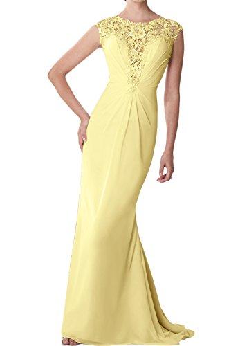 Topkleider mujer amarillo para Vestido Topkleider Vestido para 7pwRq4