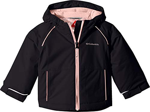 Columbia Toddler Girl's Alpine Action Ii Jacket, 3T, Black
