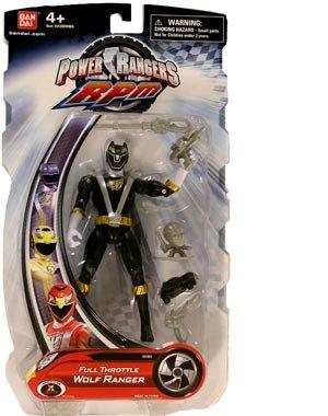 Power Rangers Rpm Toys (Power Rangers RPM 5 Inch Basic Action Figure Full Throttle Wolf Ranger)