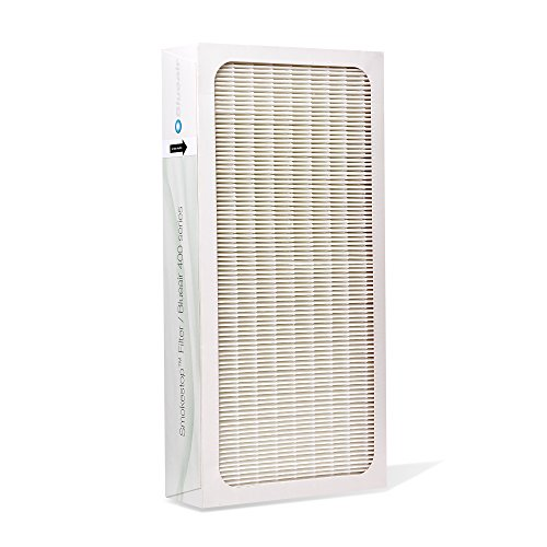 Series Smokestop Replacement (Blueair Classic Replacement Filter, 400 Series Genuine SmokeStop Filter, Pollen, Dust, Odor, VOC Removal; Classic 402, 403, 410, 450E, 455EB, 405)