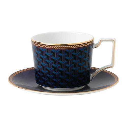 Wedgwood Byzance Teacup & Saucer Set