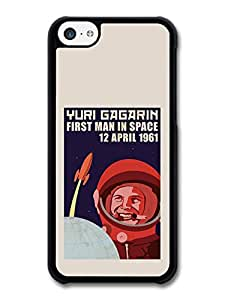 Russian Propaganda Style Poster in Space Cool Fashion Stylish case for iPhone 5C