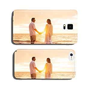 Mature Couple Enjoying Sunset cell phone cover case Samsung S6