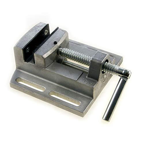 SP10008008 2.5' Mini Pillar Drill Press Vice Milling Workshop Dual Jaw Aluminium KATSU Tools