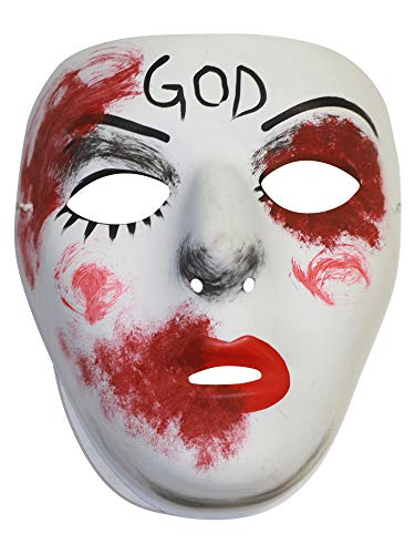 Success Creations Divine Similar Purge Scary Masquerade Mask for Men and Women ()