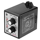 Akozon Twin Timer Relay On Off Twin Timer Relay