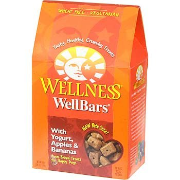 Wellness WellBars Natural Wheat Free Oven Baked Dog Treats