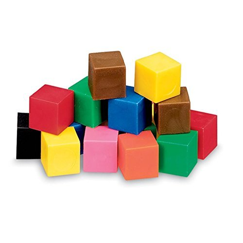 ETA hand2mind Plastic Centimeter Cubes (Set of 1,000)