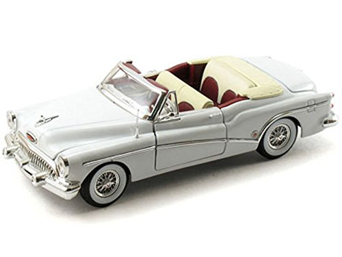 Signature Models 1953 Buick Skylark Convertible, White 32321 - 1/32 Scale Diecast Model Toy Car ()