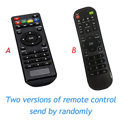 Calvas Arabic iptv Remote Control New arrival Remote Control For arabic iptv/indian iptv box - (Color: 2 pieces) (Best Tv Arabic Iptv Box Wireless Package)