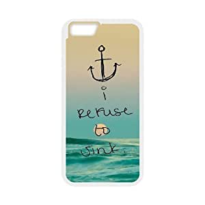"""Custom Colorful Case for Iphone6 Plus 5.5"""", I Refuse to Sink Cover Case - HL-R659851"""