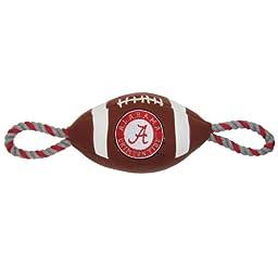 Pets First Alabama Pebble Grain Football Pet Toy
