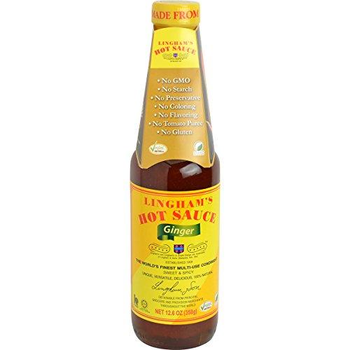 (Lingham's Hot Sauce, Ginger, 12.6 Ounce)