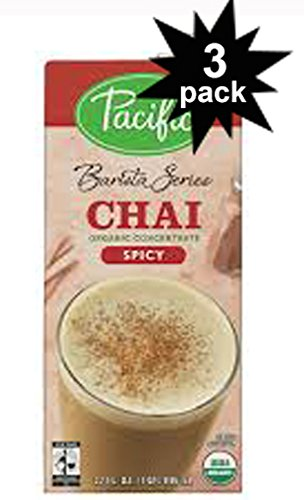 Series Organic (Barista Series Organic SPICY CHAI LATTE Concentrate 32oz. (3 Pack))