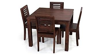 585912ca5d Urban Ladder Arabia Capra Four Seater Dining Table Set (Mahogany ...