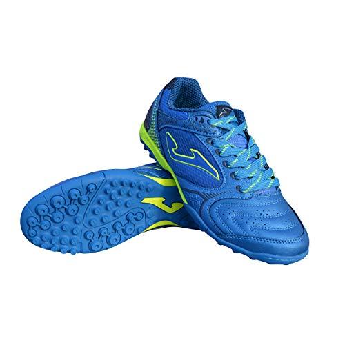 3dc6e05bacabd Joma Men's Dribling TF Turf Soccer Shoes (10 M US, Royal Blue/Neon Yellow)