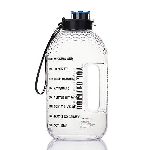 🥇 Bottled Joy Half Gallon Water Bottle