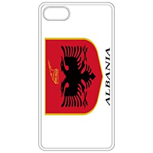 Albania Coat Of Arms Flag Emblem White Apple Iphone 4 - Iphone 4s Cell Phone Case - Cover