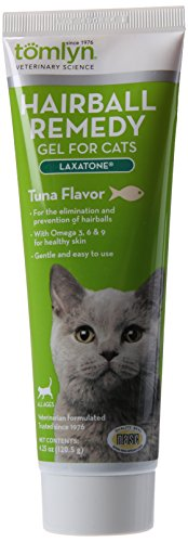 Tomlyn Hairball Remedy for Cats, Tuna Flavor, (Laxatone) 4.25 oz (Tomlyn Products Laxatone)