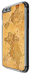 1088 - cool fun old vintage world map Design For iphone 4 4S Fashion Trend CASE Back COVER Plastic&Thin Metal -Clear