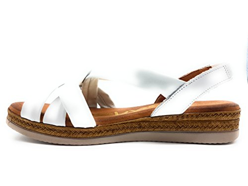 OH MY SANDALS 3629 TUBULAR MUJER BLANCO