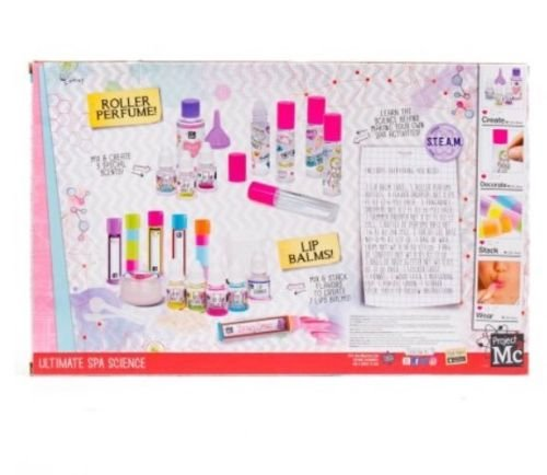 Project Mc2 Ultimate Spa Science Lip Balm and Roller Perfume Kit