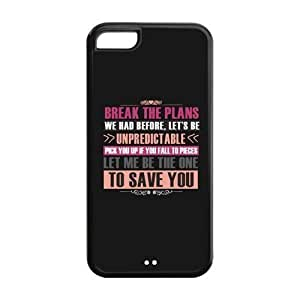 LJF phone case the Case Shop- Customizable 5SOS iphone 6 4.7 inch TPU Rubber Hard Back Case Cover Skin , i5cxq-156